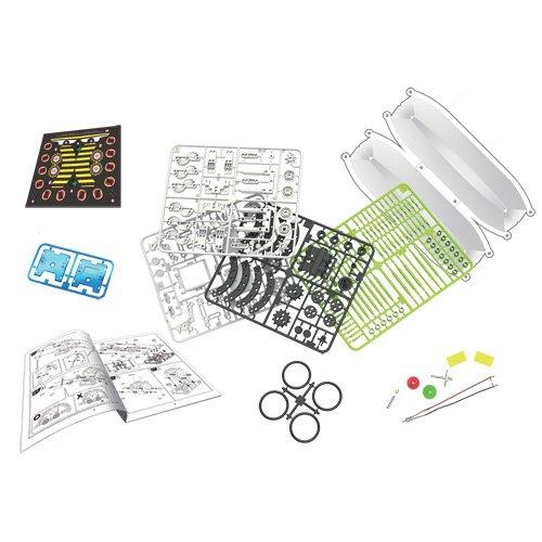 51wzTlmgKIL - itsImagical 14X1 Eco-Robot - Kit para construir robots solares, unisex