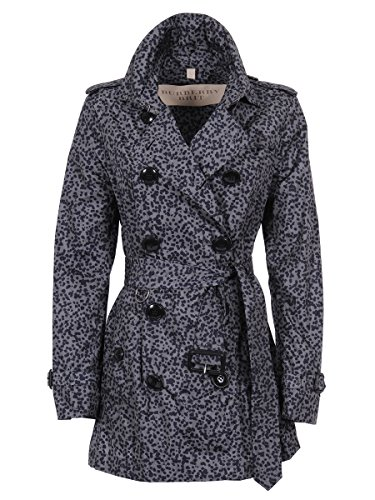 Burberry Trench Donna 3998827 Poliammide Blu