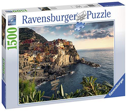 Ravensburger 16227 Vista delle Cinque Terre Puzzle, 1500 Pezzi