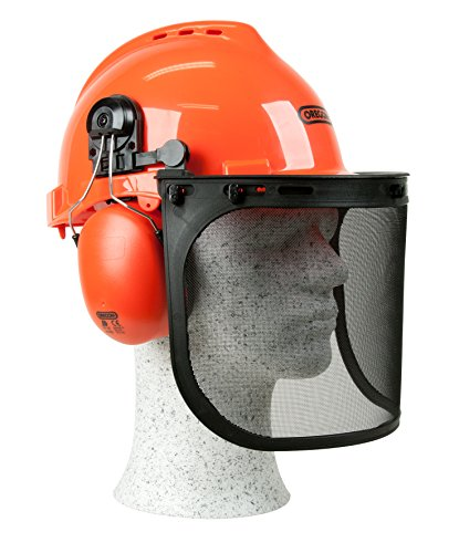 Everything seems okay with this chainsaw safety helmet. It fits well and offers a good airflow for overall comfort. This impact resistance helmet will save your head in case of a knock or if you fall down. The visor is well made and the earmuffs block noise relatively well. The assembly instructions, however, have been found to be rubbish but a look at the photos on the box should help. Nonetheless, the OREGON 562412 Yukon Chainsaw Safety Helmet is very functional in the field and a decent consideration for less than £20.
