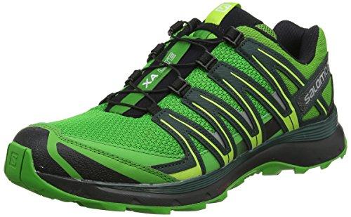 Salomon XA Lite, Zapatillas de Deporte para Hombre, Verde Onlime Lime/Darkest Spruce/Black), 44 EU