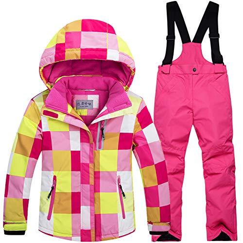 LSERVER Bambini Inverno Caldo Cappuccio Snowsuit Bambino Infante Antivento e Impermeabile &...