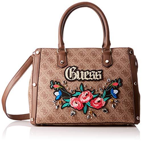 Guess - Badlands, Bolsos de mano Mujer, Rosa (Rose/Ros), 32x24x14.5 cm (W x H L)