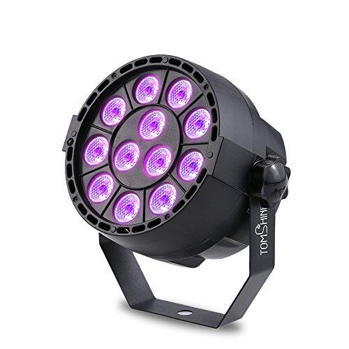 Tomshine 15W 12 LEDs Luce a Sfera UV Fase par Light luce AC110V-220V Supporto Automatico Voce DMX512...