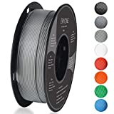 Filament PLA 1.75mm, Eryone PLA Filament 1.75mm, Imprimante 3D Filament PLA Pour Imprimante 3D, 1kg 1 Spool,Gris