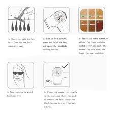Sistema-de-depilacin-lser-sin-dolor-para-hombres-y-mujeres-en-el-hogar-pantalla-LCD-de-300000-flashes-Blanco