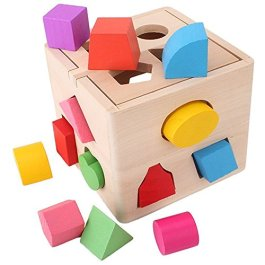 SainSmart Jr. Puzzle in Legno Tetris, 40 Pezzi