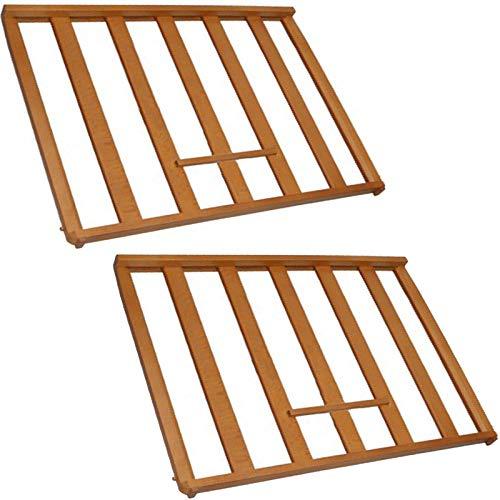 Spares2go Universal scaffale portabottiglie inserto per glacette cabinet frigo cantina (confezione...