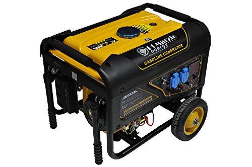 Generador eléctrico 3 KW - Gasolina - Grupo electrógeno - Arranque eléctrico y manual