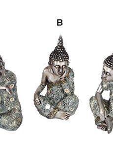 Figura Buda Sentado. Tres Modelos de Hogar y Mas – A