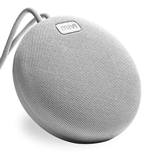 Mivi Roam 5 Watts Ultra-Portable Wireless Bluetooth Water Proof Speaker BS5RM (Grey)