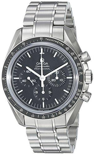 Omega Speedmaster Professional 'Moonwatch' - Reloj (Reloj de Pulsera, Acero Inoxidable, Acero Inoxidable, Acero Inoxidable, Acero Inoxidable, Hesalita)