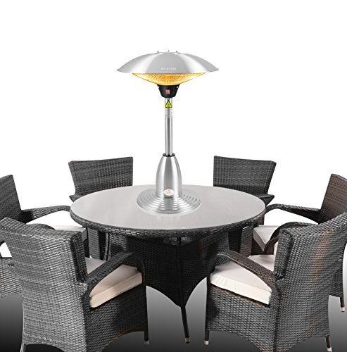 Firefly 2.1kW Stainless Steel Electric Table Top Patio Heater Review