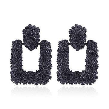 Cercle en alliage de boucles d'oreilles en alliage de cercle à la mode féminine pour cadeau d'anniversaire de la Saint-Valentin pour dames par TheBigThumb