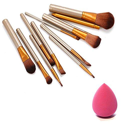 Generic Makeup Brushes - Set Of 12
