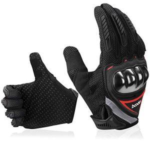 Motorrad Handschuhe Sommerhandschuhen Perfekt Anti Rutsch mit Screentouch Funktion Atmungsaktives Material für Mountainbike, Outdoors, Radfahren 14