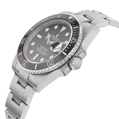 Rolex Oyster Perpetual Submariner Date Two-Tone Steel Mens Watch 11613BL - 3