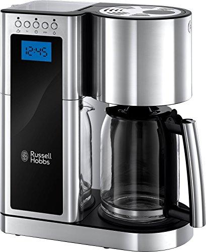 Russell Hobbs Elegance Digital drip coffee device (chrome) (10 cups)