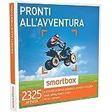 SMARTBOX - Cofanetto Regalo - PRONTI ALL'AVVENTURA - Quad, rafting, fitness, motori…