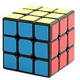 New Journey Cubo Rompecabezas cube IQ 3X3X3 Negro velocidad Puzzle