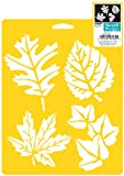 Delta Creative Stencil Mania Stencils, 7 by 10-Inch, SM97-0860 More Leaves