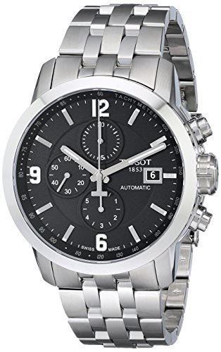 Tissot Herren-Armbanduhr Chronograph Automatik Edelstahl T055.427.11.057.00