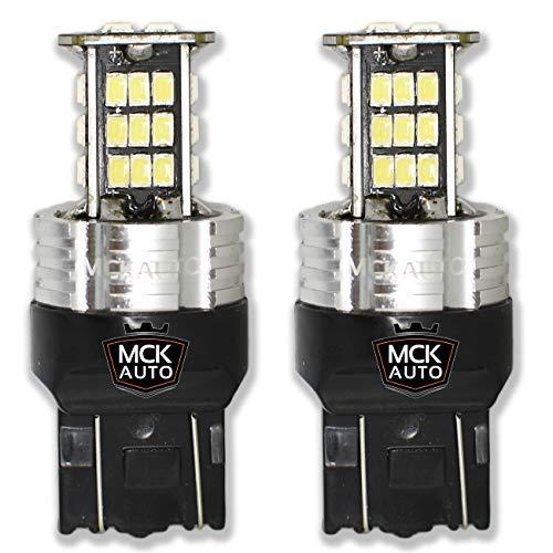 MCK auto 1600LM T20 7443 W21/5W luci LED bianco lampadine Canbus luci di marcia diurna retromarcia...