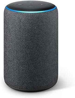 Echo Plus (2. Gen.), mit Premiumklang und integriertem Smart Home-Hub, Anthrazit Stoff