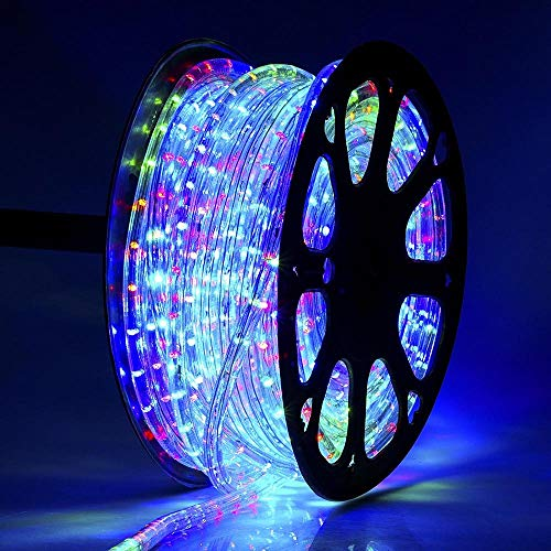 SUBMART Waterproof Decorative Power Saving Super Bright LED Rope Light with Adapter for Indoor and Outdoor Decoration(Multicolor_20 mtr)
