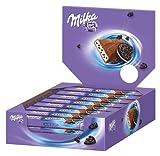 Milka und Oreo Schokoriegel, Ideal für das Büro, 24er Pack (24 x 41 g)