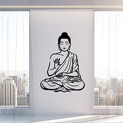 Buddha Wall Sticker Home Decor Adesivi murali in vinile per soggiorno camera da letto Sticker murale...