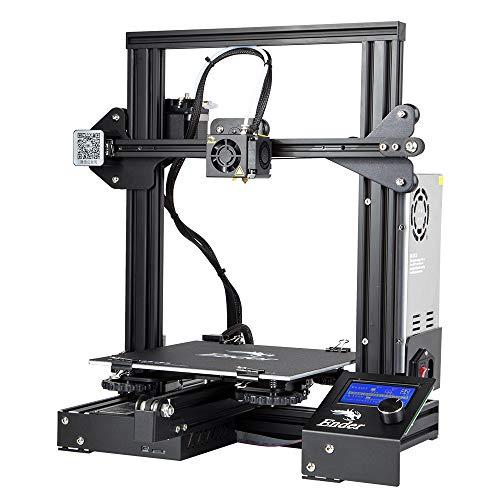 Comgrow Creality 3D Ender-3 3D-Drucker Aluminum DIY mit Druckvorgang 220 * 220 * 250mm