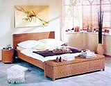 HANSEN RATTAN Live Rattan-Bett Orleans (Größe: 140 x 200 cm)