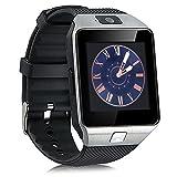 Jiazy Bluetooth Smart Watch Hacer llamadas telefónicas / Soporte de notificación de mensajes / Sleep Monitor Compatible para Android Sumsung HUAWE Sony Women Watch
