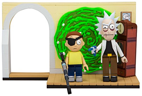 Rick and Morty - Evil Rick and Morty Construction Set McFarlane