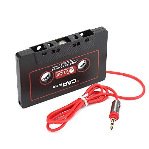 ZOMTOP 3.5mm Auto AUX Audio Tape Cassette Convertitore adattatore per auto Radio CD Lettore MP3...