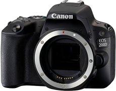 Canon EOS 200D Cuerpo de la cámara SLR 24.2MP CMOS 6000 x 4000Pixeles Negro - Cámara digital (24,2 MP, 6000 x 4000 Pixeles, CMOS, Full HD, Pantalla táctil, Negro)
