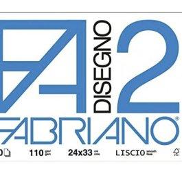 Viscio Trading 122861 Album Fabriano,f2 Liscio