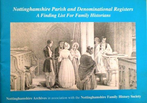 nottinghamshire parish and denominational registers