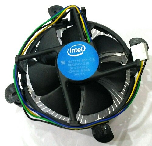Technotech Intel Socket LGA 775/1155/1156 4Pin CPU Heatsink Fan