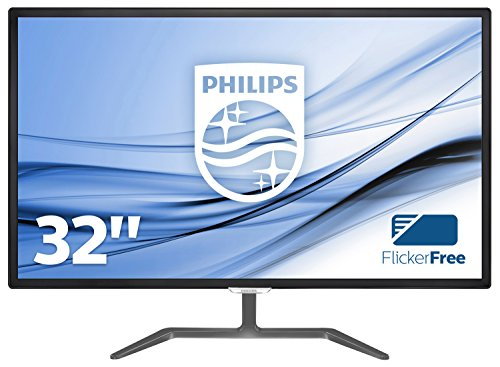 Philips 323E7QDAB Monitor da 32', Full HD 1920 x 1080, LED IPS, Flicker Free, Audio Integrato, HDMI,...