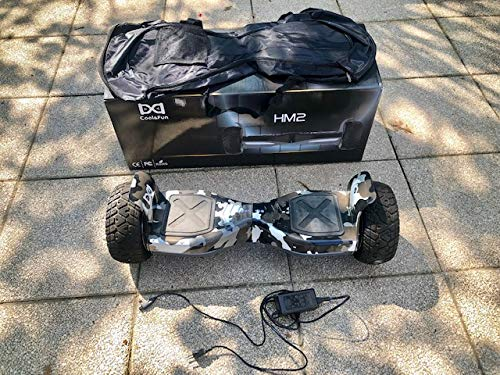 All Terrain Monster kit di conversione – hummer hoverboard self Balance scooter Swegway 21,6 cm...