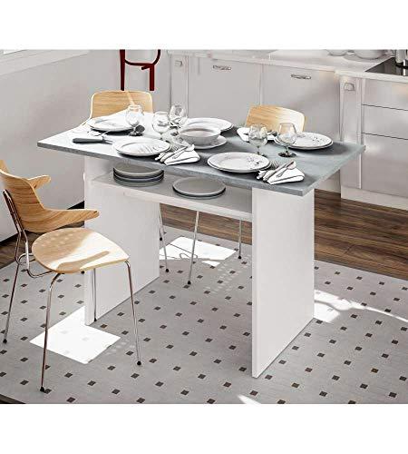 13Casa Granada B11 Tavolo consolle, Melamina, 120 x 35 x 75 cm