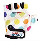 Kiddimoto Children's Cycling/Scooter Gloves | Small | Pastel Dotty