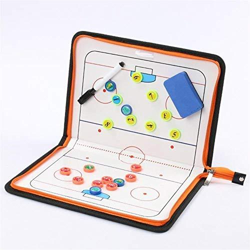 Cerniera per Hockey su Ghiaccio Magnetic Tactic Coaching Board Atleta Competition Comando...