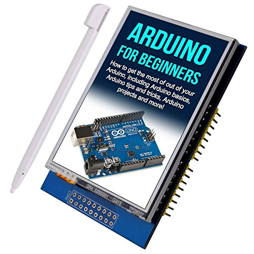 "Kuman K60 LCD 2.8""touch per Arduino UNO-R3 Mega2560 LCD TFT touch 320x240 2.8 pollici con lettore micro SD"