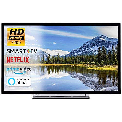 SMART TV 32 Pollici Televisore HD Ready 720p Toshiba 32W3863DA Cinema Serie Tv Dolby Wi-FI Wlan...