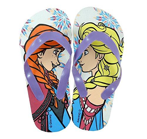 Infradito Bambina Frozen Disney Flip Flop Ciabatte Mare Piscina Bimba Anna Elsa