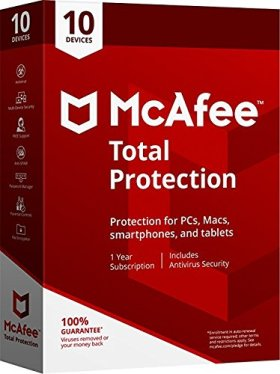 OFFER @16.79 10Devices Mcafee Total protection 2018 (Download link and activation key via Amazon Message in 1 hour of purchase)