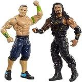 WWE John Cena vs Roman Reigns  Battle Pack Playset, Multicolore, GBN51